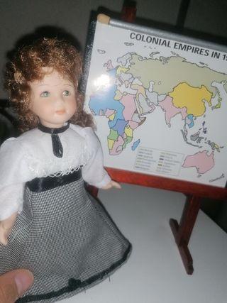 Muñeca Porcelana Harrods
