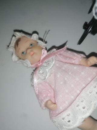 Muñeca Bebé Porcelana Harrods