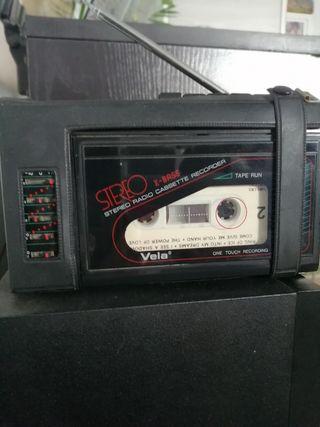 Radio cassette.