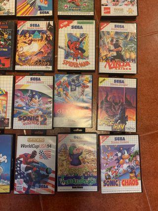 20 Juegos cartucho Sega