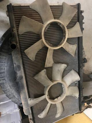 Aspas ventilador viscoso
