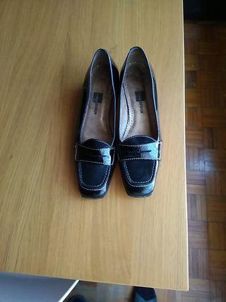 zapatos medio tacón