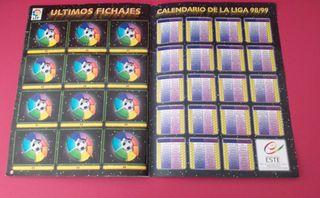 ALBUM LIGA ESTE 98/99