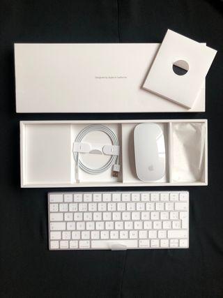 Magic keyboard + Magic Mouse 2° generación