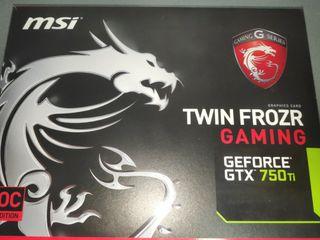 Geforce GTX 750 ti oc 2 Gb