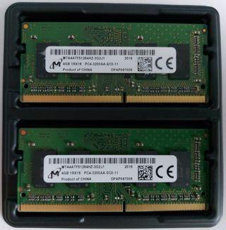 8Gb RAM DDR4 SO-DIMM