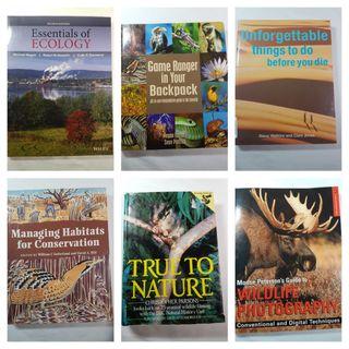 Libros Naturaleza en inglés