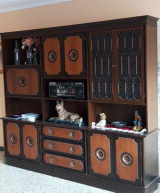 """Mueble Salon """"Vintage"""" - Regalo de 3 sofas"""