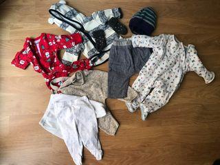 Pelele bebé 1-3 m., jersey recién nacido, pelele,