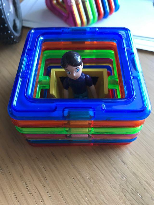 Juego de imanes 3D