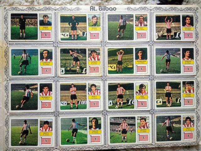 Album de cromos Campeonato de liga 73/74 completo