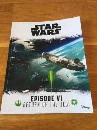 STAR WARS book in English Disney Episodio 6