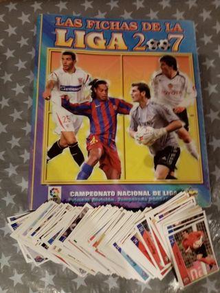 Cromos Fichas de La Liga 2007