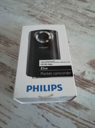 videocamara philips 1080p