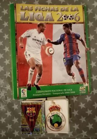 Cromos Las Fichas de La Liga 2006