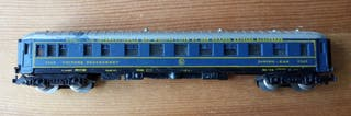 Vagón de tren antiguo