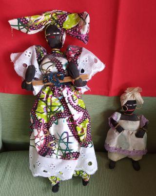Muñecas de tela africanas