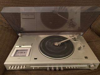 Tocadiscos, reproductor de cintas yradio Panasonic
