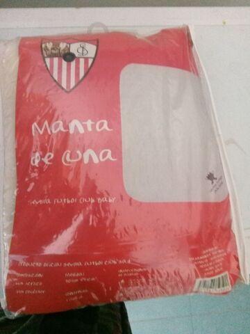 Manta de cuna del Sevilla F.C.