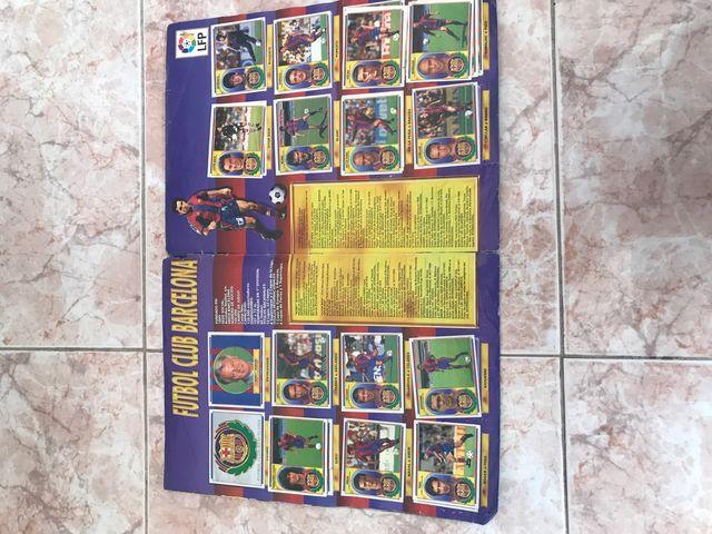 Álbum de cromos liga 96-97