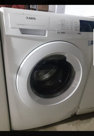 lavadora AEG 8kg con garantía