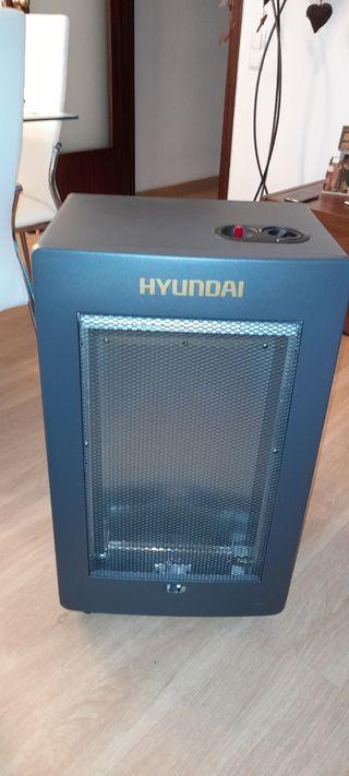 Estufa a gas Hyundai llama azul