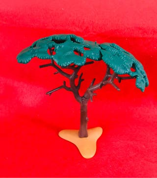 playmobil árbol africano desierto