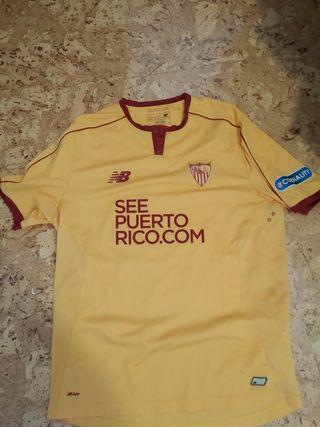 camiseta match worn sevilla
