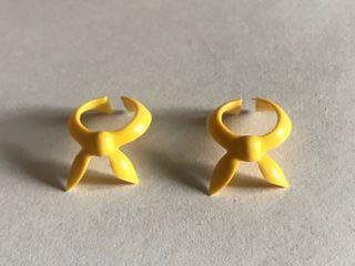 Playmobil lote 2 collares amarillos primera época