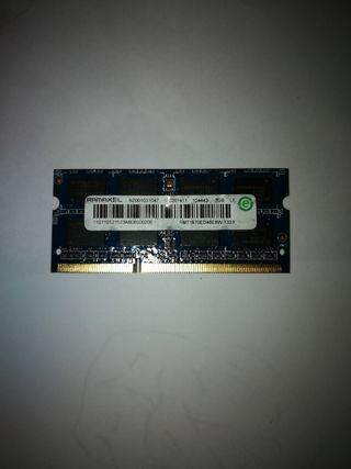Memoria RAM SO-DIMM DDR3 2G