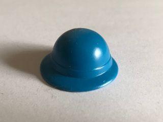 Playmobil bombín azul caballero inglés