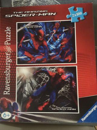 puzzle. spiderman