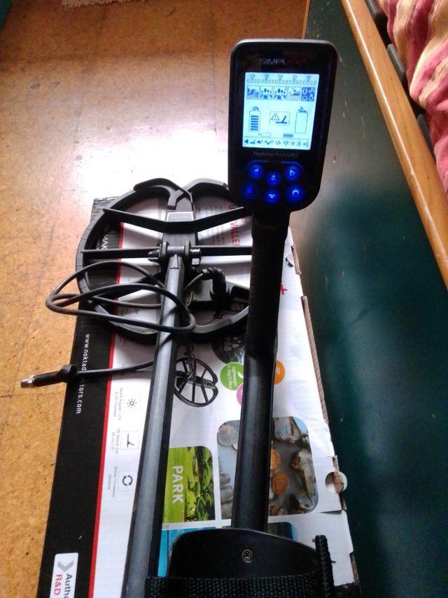 Detector de metales Nokta