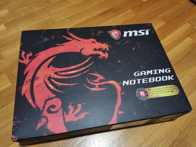 MSI Portátil Gaming Seminuevo ¡¡BF!!