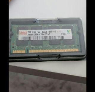 memoria de 2 GB para portátil PC2 555Mhz