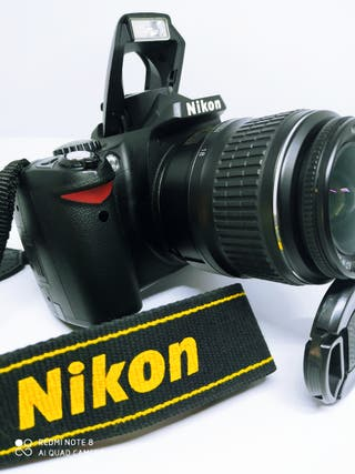 Nikon Reflex digital profesional impecable