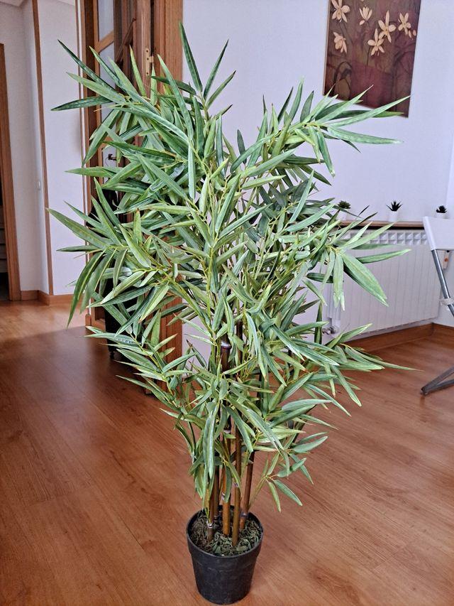 Planta artificial bambu