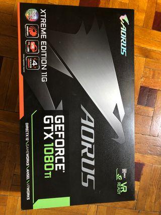 Aorus GeForce gtx 1080 ti xtreme edition 11 Gb