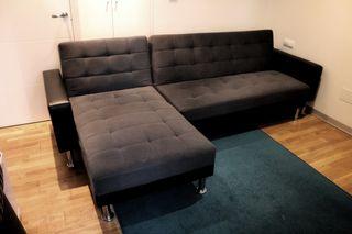 Sofá cama esquinero 4 plazas