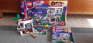 Lego friends Pop Star casa de Livi