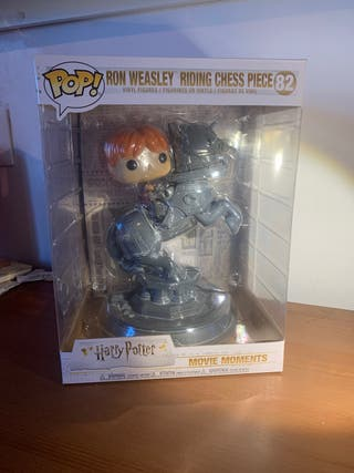 Funko Ron Weasly Riding Chess Piece Harry Potter
