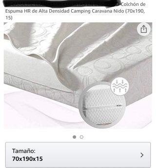 Colchón Espuma HR 70x190x15