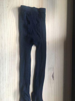 Leotardos azules talla 12/24 meses