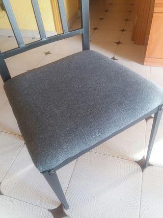4 sillas de salon