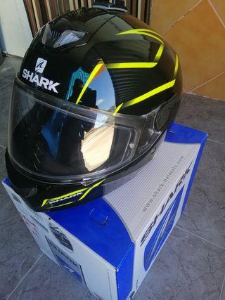 casco moto shark skwal flynn