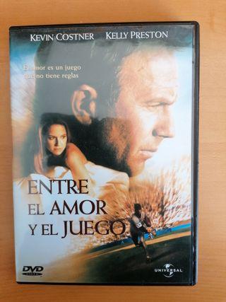 """Dvd película: """"Entre el amor y el juego"""""""