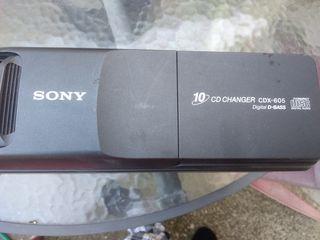 Cargador de CD Sony