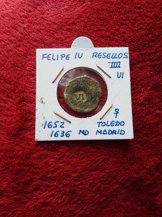 Moneda antigua Española