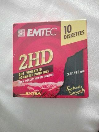 """Diskettes 2HD 3.5""""/90m.m"""