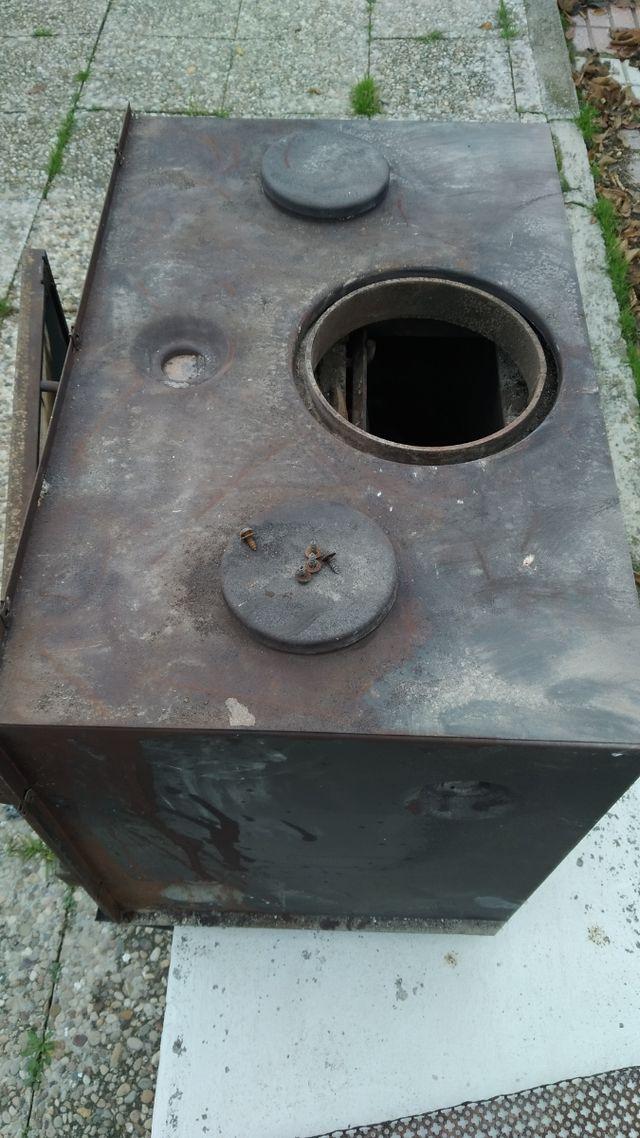 Insertable cassette chimenea